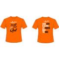 Motivacijska ženska majica Active Dry - oranžna