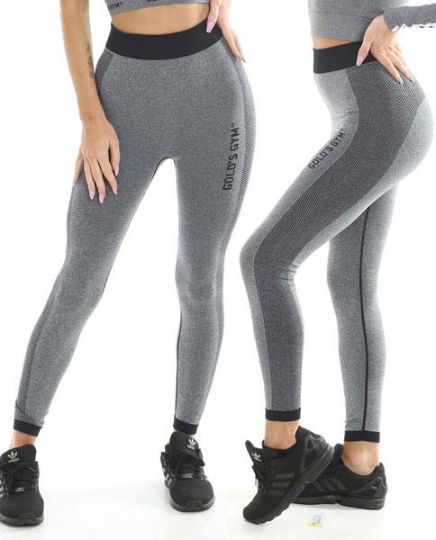 Ladies Seamless Legging Grey