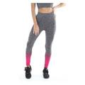Ladies Seamless Legging Pink Charcoal